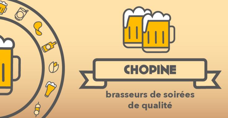 Chopine, le jeu d'alcool par Chouic, brasseurs de soirées de qualité