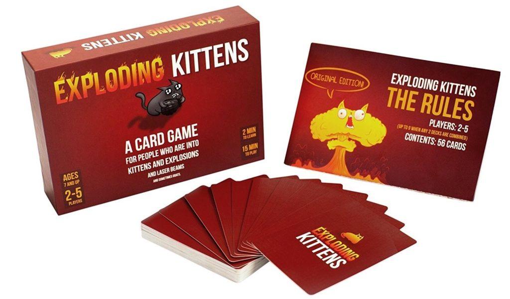 EXPLODING KITTENS - Un des meilleurs jeu de société pour adulte parfait pour l'apéro