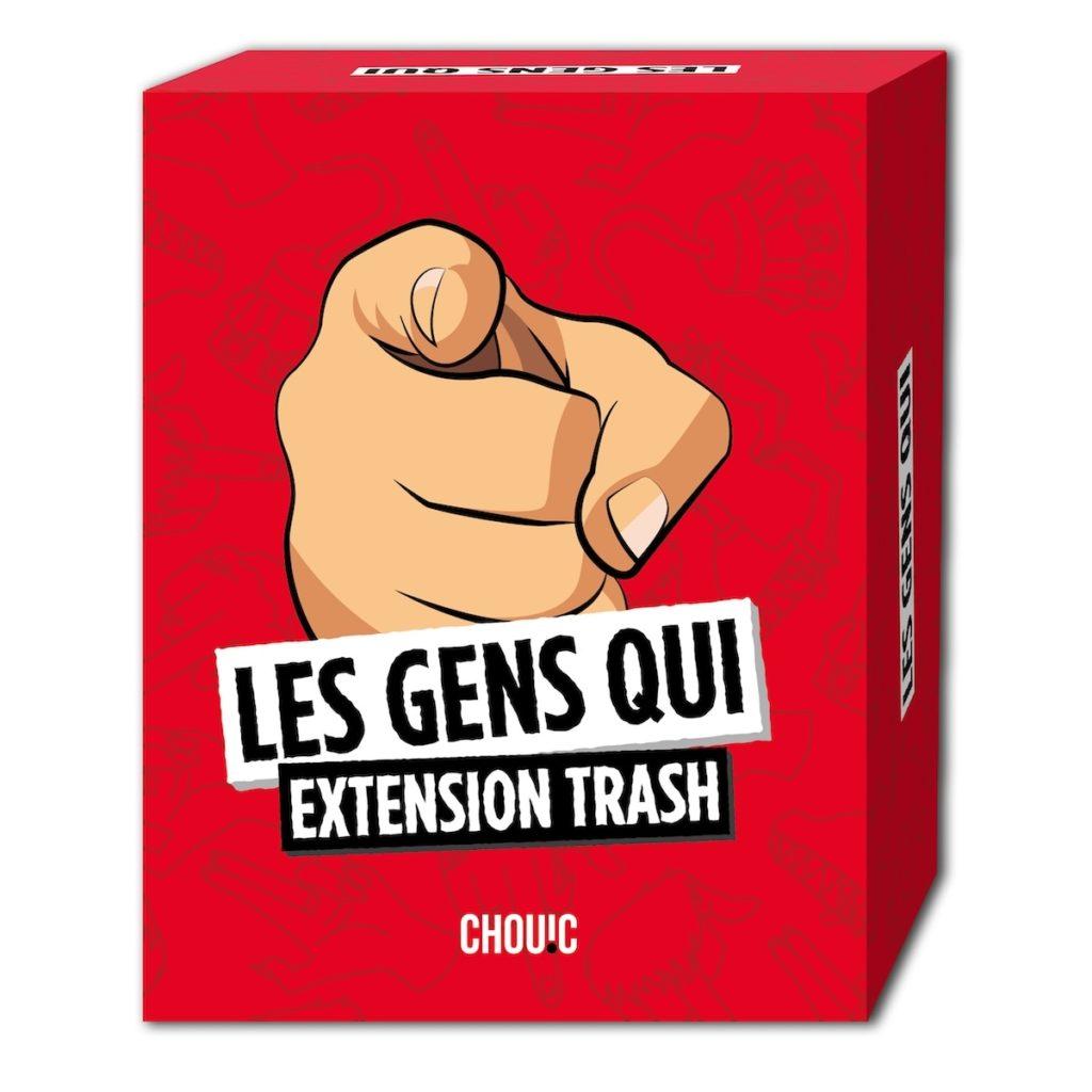 Extension trash du jeu Les Gens Qui