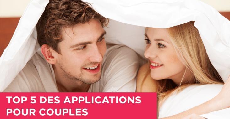 le top 5 concernant le meilleur des application pour couple